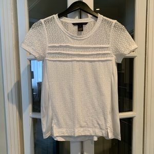 Marc by Marc Jacobs short sleeve blouse. Size XS